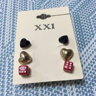 Forever 21 Earrings 耳環