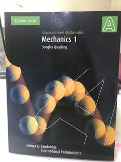 Cambridge AS&A Level Mechanics 1 Textbook Import