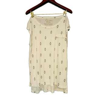 Zara Oversized Pattern Shirt
