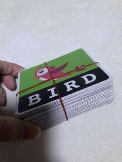 2 sides flash card