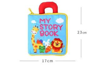My story book- Activities Cloth book for babies
