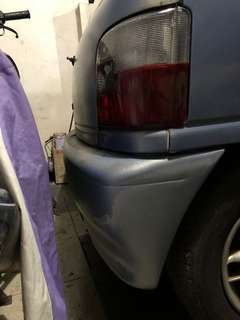 bumper kancil belakang