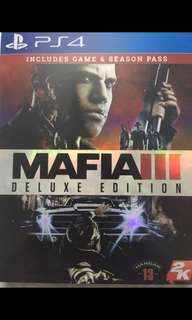 Mafia 3 deluxe edition ps4