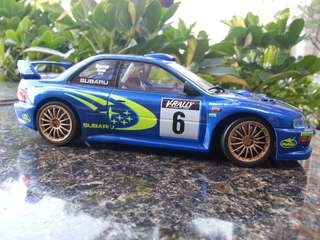 Tamiya 1/24 Subary Rally WRC 1999 上色完成品