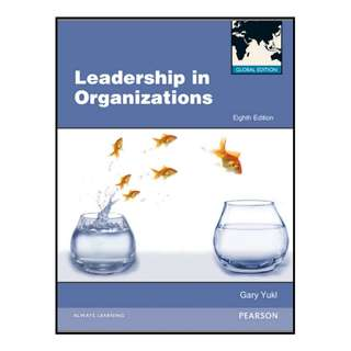 Leadership in Organizations(pdf)