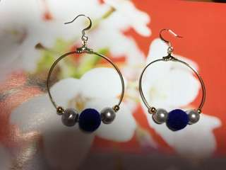 Circular Dangling Earrings