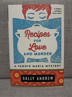 Recipe for Love and Murder Book