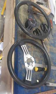 Fiat abarth 500 steering wheel