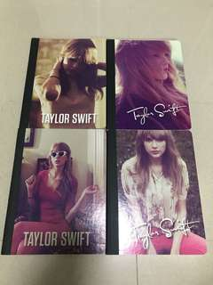 Taylor Swift Notebook SET