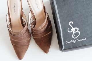 Something Borrowed Pointed Toe Heels
