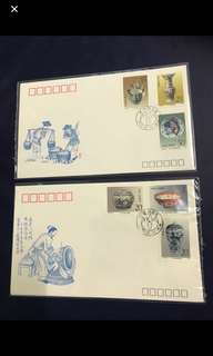China Stamp- 1991 T166 FDC