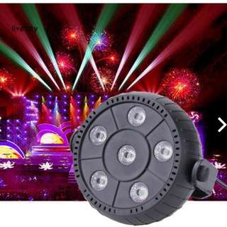 LiveCity LED Stage Projector Lighting Party Disco DJ Club Music Bar RGB Light PAR Lamp