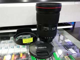 USED CANON 16-35MM F2.8 L III USM LENS