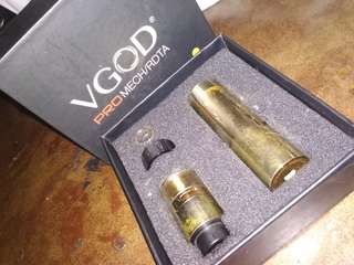 Vape VGOD Mechanical Gold