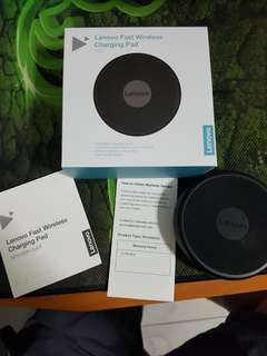 Authentic Lenovo Wireless Fast Charging Pad