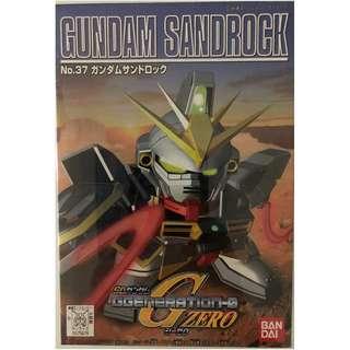 SDガンダム GGENERATION-0 No.37 *XXXG-01SR GUNDAM SANDROCK*