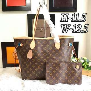 Louis Vuitton Neverfull with Pouch