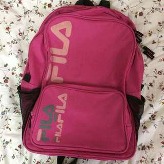 Authentic Fila Pink Bagpack