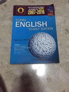 O Level English Yearly TYS