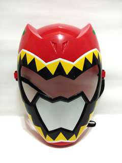 (RM15punOK)Power Ranger Red Ranger Dino Charge Mask