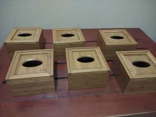 Wooden Tissue Holder Japan made