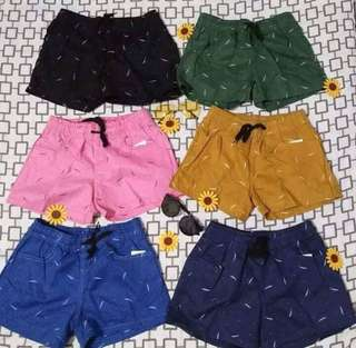 Men and women shorts