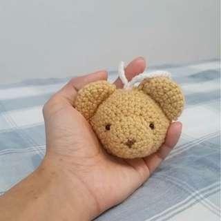 Amigurumi bear head