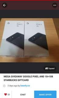 Repost: Pixel 2 Giveaway