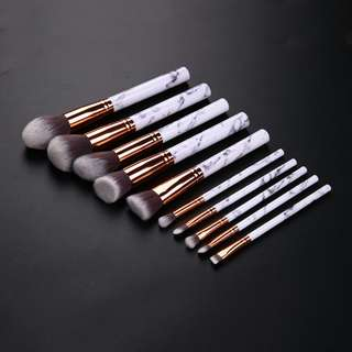 PO Marble makeup brushes