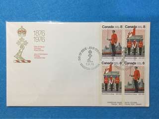 1976 Canada Royal Military College Centenary First Day Cover