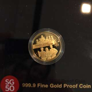 SG50 (2015) $50 Gold Proof Coin