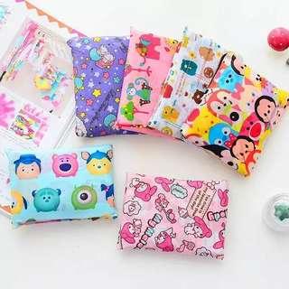 Kawaii Hello Kitty My Melody  Cute Foldable Large Capacity Shopping Bag