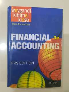 Financial Accounting 3e IFRS Edition