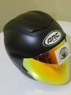 1407👀👁 ARC RITZ Matt BLACK Helmet For Sale 😁😁Thanks To All My Buyer Support 🐇🐇 Yamaha, Honda, Suzuki
