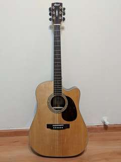 Accoustic Electric Guitar Cort 3 months old!