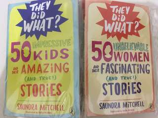 Puffin 50 kids and 50 women and their amazing and TRUE stories