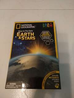 National Geographic-Glow in the dark stars