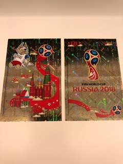 Fifa World Cup 2018 Shiny Sticker