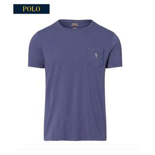 Ralph Lauren Cotton Jersey Pocket T Shirt Tee
