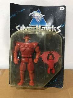 Kenner Silverhawks Monstar europe rare black card