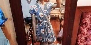 Tie knot Summer Floral Dress
