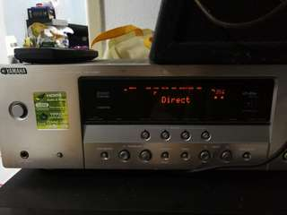 2 YAMAHA POWER AMPLIFIER WITH 2 SPEAKER,Pls read my Description below.
