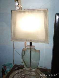 Table lamp kaca
