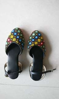 Handmade Peranakan Beaded Shoes