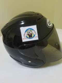 1407👀👁 ARC RITZ BLACK Helmet For Sale 😁😁Thanks To All My Buyer Support 🐇🐇 Yamaha, Honda, Suzuki