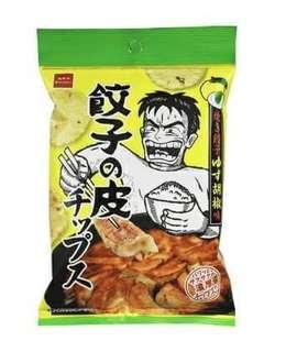 🚚 日本7-11濃厚餃子皮餅乾