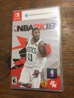 Nintendo Switch game NBA 2K18