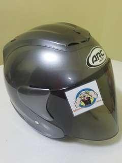 1407👀👁 ARC RITZ Grey Helmet For Sale 😁😁Thanks To All My Buyer Support 🐇🐇 Yamaha, Honda, Suzuki