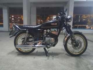 Yamaha rxk 135