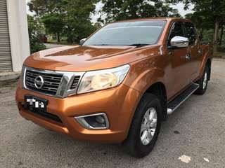 SAMBUNG BAYAR/CONTINUE LOAN  NISSAN NAVARA NP300 4x4 AUTO V SPEC YEAR 2016 MONTHLY RM 1240 BALANCE 6 YEARS + ROADTAX APRIL 2019 TURBO PUSH START BUTTON LEATHER SEAT REVERSE CAMERA TIPTOP CONDITION  DP KLIK wasap.my/60133524312/navara